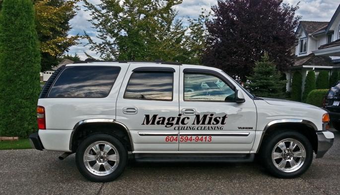 Magic Mist Company Vehicle